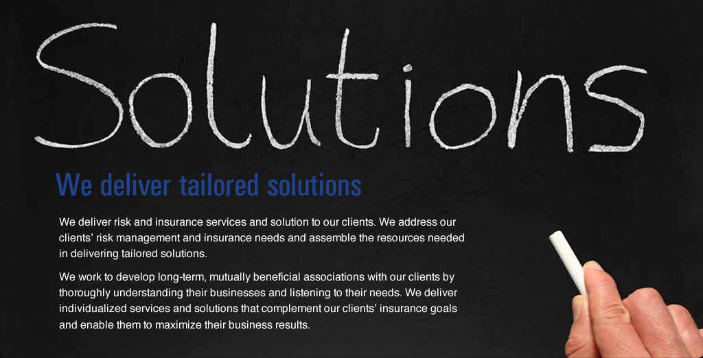 We deliver tailored solutions
