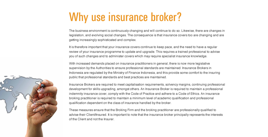 Why use insurance broker?